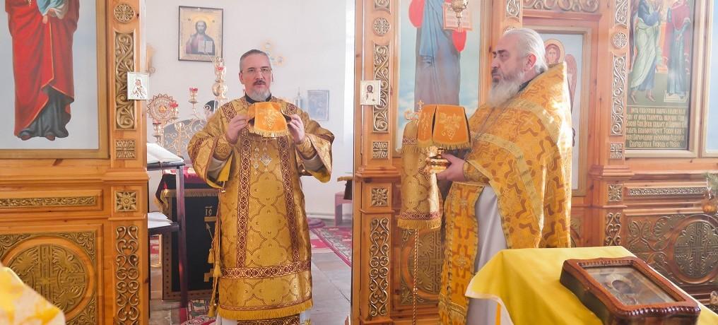 Архиерейское служение в Неделю пред Рождеством Христовым