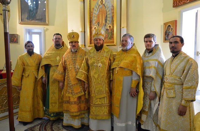 2 июля 2017 г. в первые в истории Краснокаменской земли служили два архиерея
